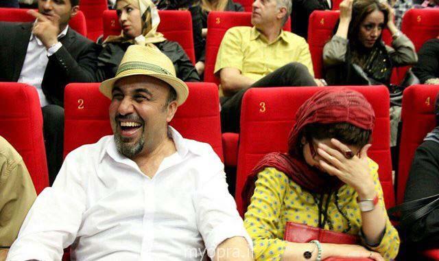 بازیگران در اکران خصوصی فیلم نهنگ عنبر