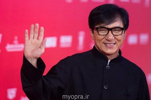 جکی جان در جشنواره فیلم شانگهای