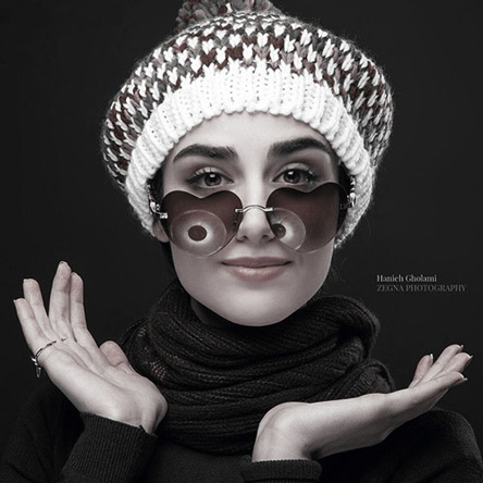 عکس های جدید و زیبای هانیه غلامی تیر ماه 94