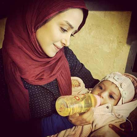 عکس های جدید الناز حبیبی بازیگر نقش بهار در سریال دردسرهای عظیم ۲