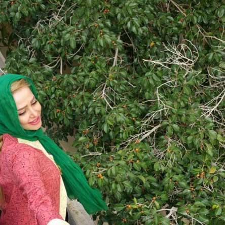 عکس الناز حبیبی بازیگر نقش بهاردر سریال دردسرهای عظیم 2