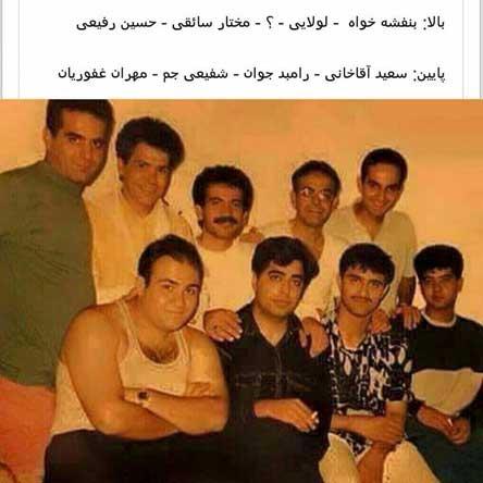عکس بسیار جالب و قدیمی از بازیگران مرد ایرانی