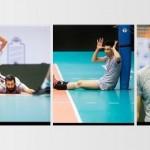 عکس های جدید از تمرین تیم ملی والیبال ایران قبل از بازی با روسیه