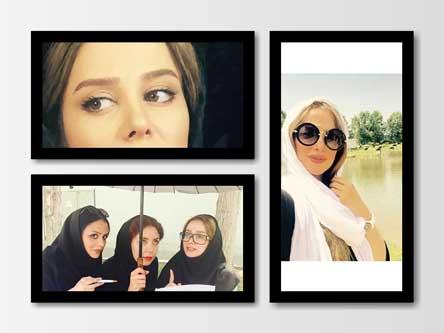 عکس های جدید الناز حبیبی بازیگر نقش بهار در سریال دردسرهای عظیم 2