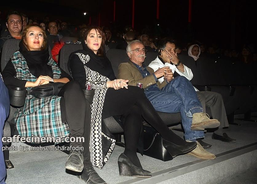 """عکس مراسم افتتاحیه """"۳۶۰ درجه """"با حضور بازیگران"""