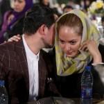 مهناز افشار و همسرش جشن سینمای ایران شهریور ۹۴