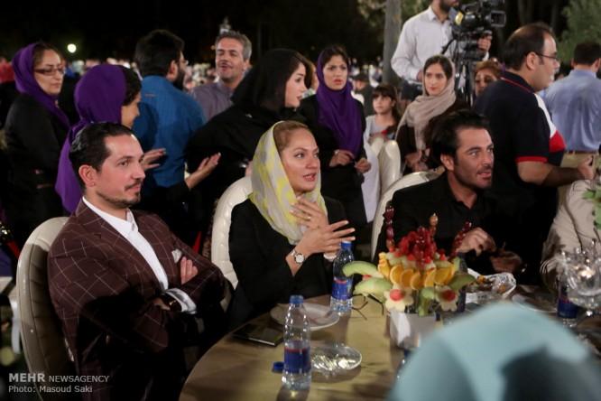 عکس های جدید مهناز افشار و همسرش در جشن سینمای ایران