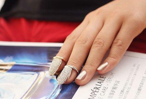 مدل جواهرات 2016 حلقه ناخن