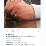 ازدواج محسن تنابنده + عکس همسرش