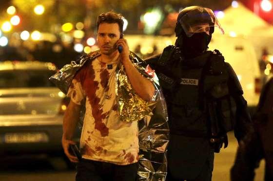 تصاویر انفجار و حملات تروریسی در پاریس