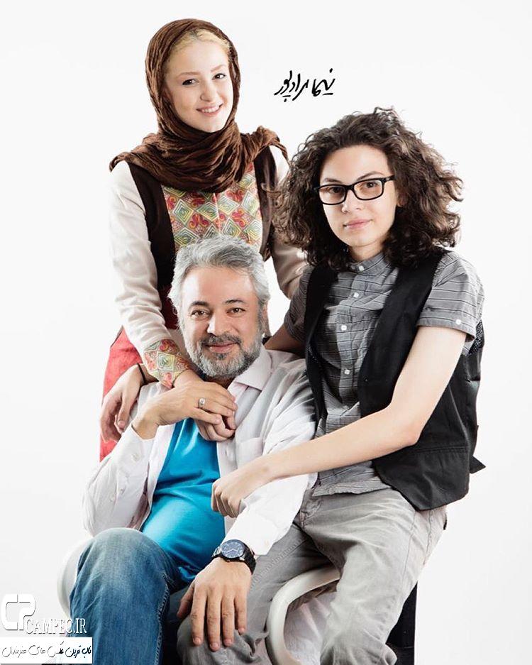 عکس خانوادگی بازیگران ایرانی 94