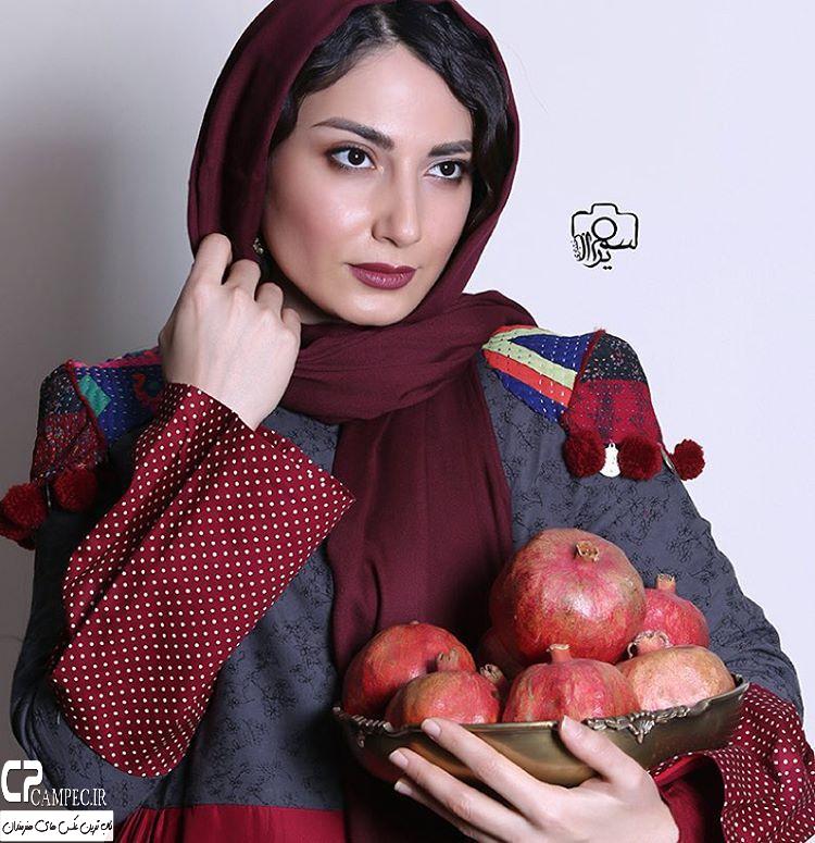 عکس آتلیه سمیرا حسن پور در شب یلدا سال 94