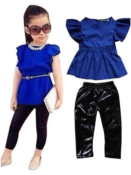 جدیدترین مدل لباس دخترانه ست در سال 95
