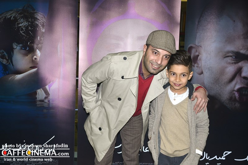 کامران نجف زاده و پسرش