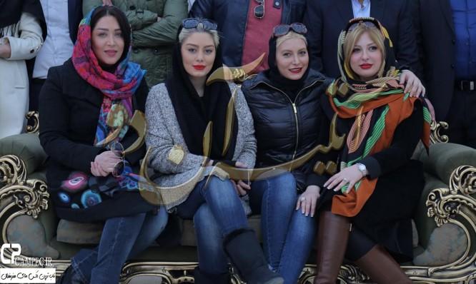 جدید ترین عکس های منتشر شده سحر قریشی در بهمن 94