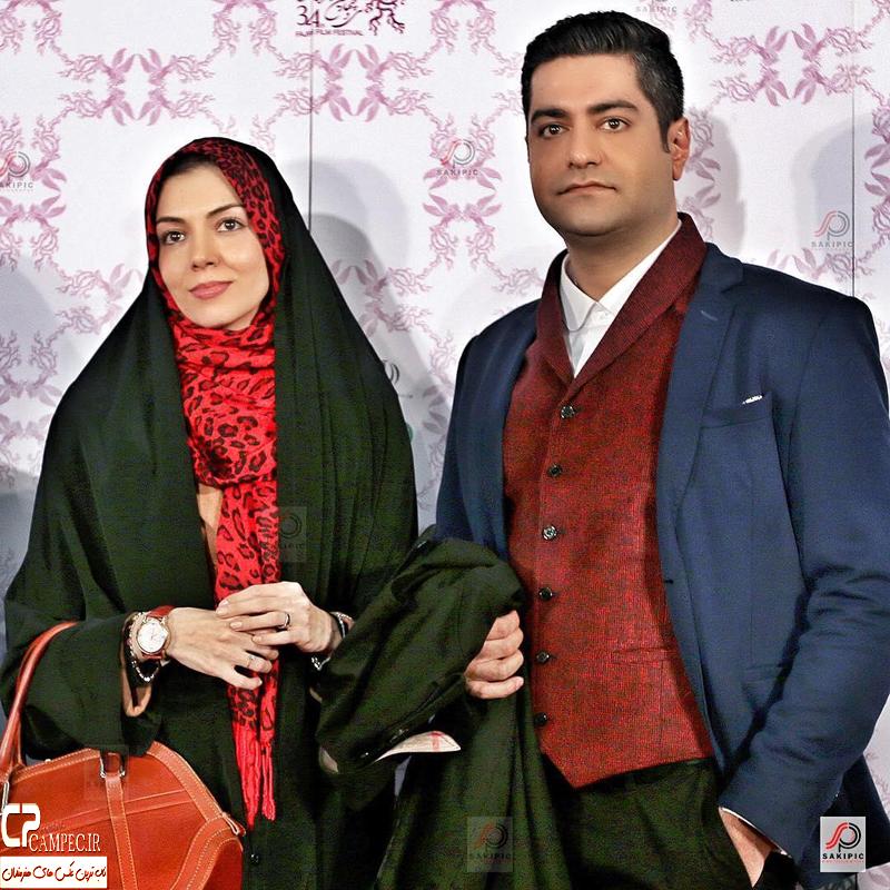 عکس های بازیگران در کنار همسرانشان اسفند 94