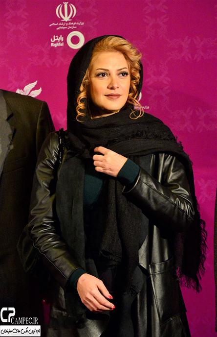 مانتو بازیگران در فرش قرمز جشنواره فجر بهمن 94