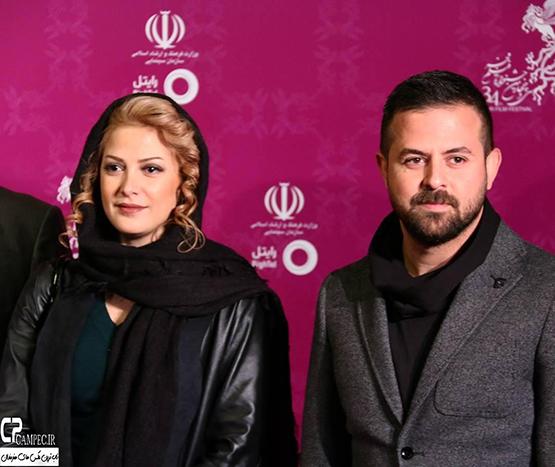 بازیگران در فرش قرمز فجر بهمن 94