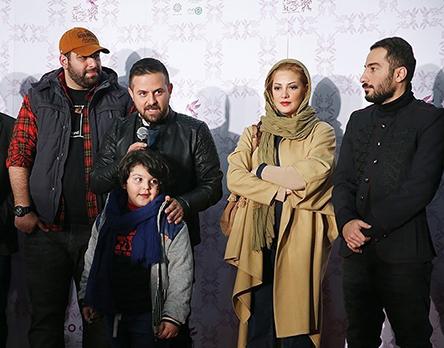 بازیگران در فرش قرمز جشنواره فیلم فجر بهمن 94