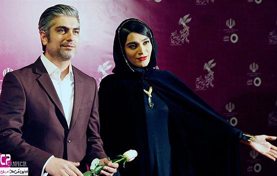 عکس های ناب بازیگران در فرش قرمز جشنواره فجر 34