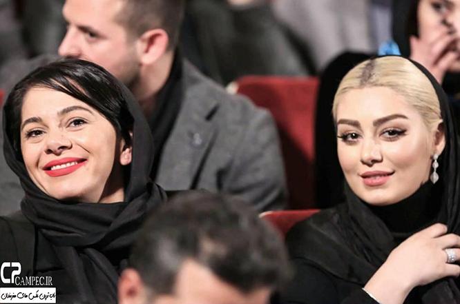 بازیگران در فرش قرمز جشنواره فجر 34
