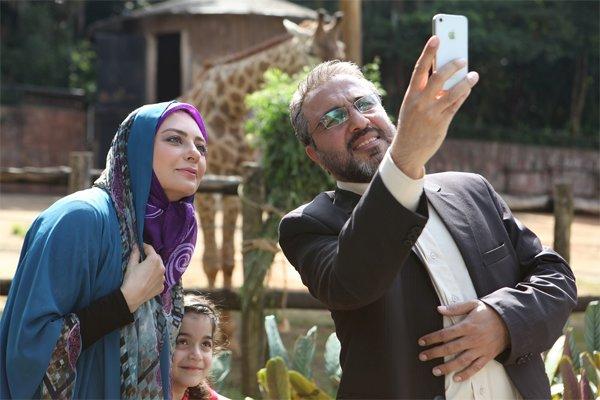 یکتا ناصر و رضا عطاران در فیلم من سالوادور نیستم