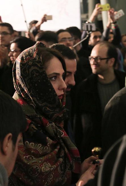بازیگران زن در فرش قرمز جشنواره فیلم فجر بهمن ۹۴