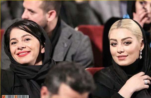 سحر قریشی در جشنواره فیلم فجر بهمن 94