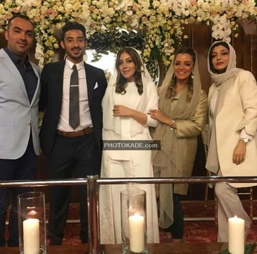 تصاویر ازدواج رضا قوچان نژاد با خواهر ساره بیات