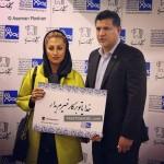 چهره های مشهور ایرانی در کنار همسرانشان ۹۵