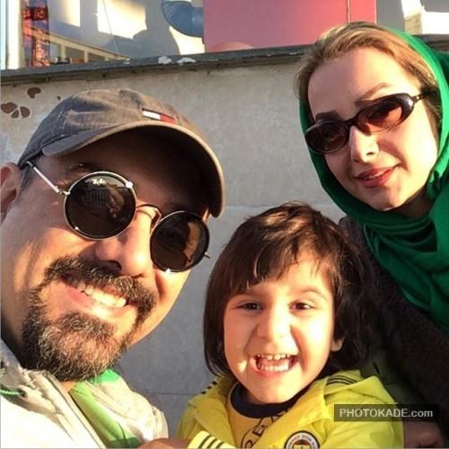 عکس های افراد سرشناس ایرانی و همسرانشان 95