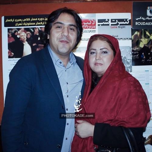 چهره های مشهور ایرانی در کنار همسرانشان 95