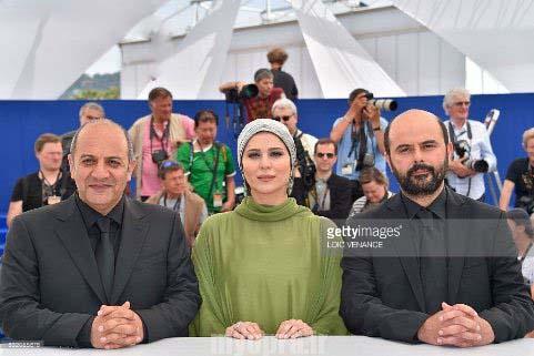 بازیگران فیلم وارونگی در جشنواره کن 2016