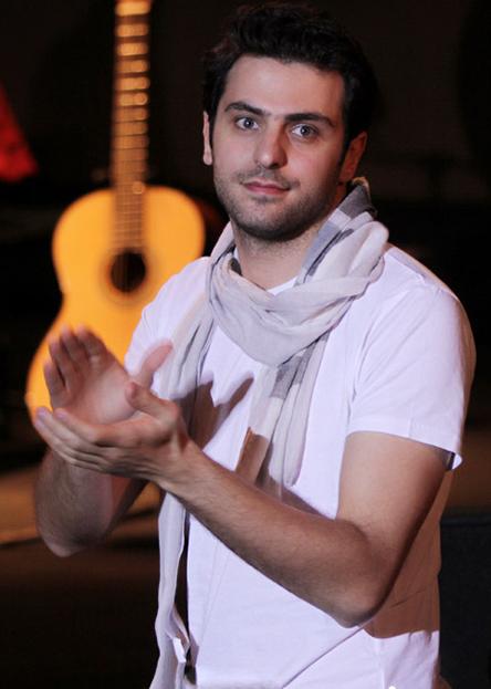 هنرمندان در کنسرت علی زند وکیلی اردیبهشت 95