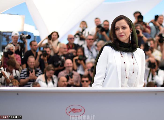 عکس های زیبای ترانه علیدوستی در جشنواره کن فرانسه