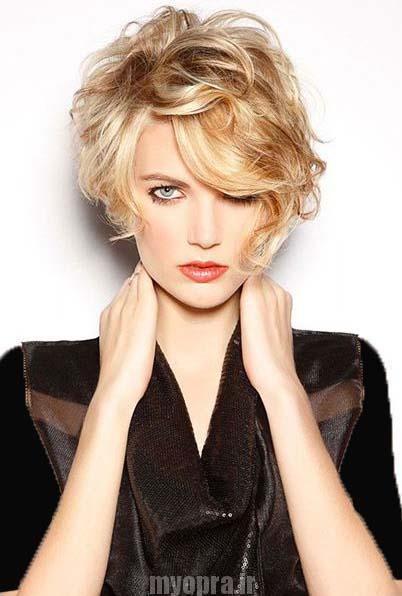 مدل جدید مو دخترانه و زنانه کوتاه تابستان 2016