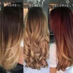 آموزش محبوب ترین روش رنگ مو  آمبره ۲۰۱۶