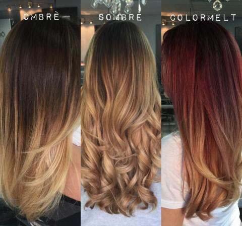 آموزش محبوب ترین روش رنگ مو آمبره