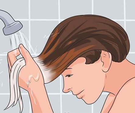 تصویر روش رنگ کردن مو آمبره 2016