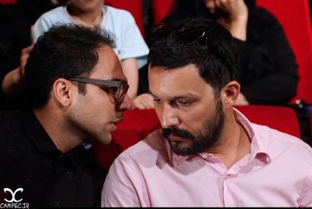 بازیگران در مراسم یاد بود عباس کیارستمی + تصاویر (17)