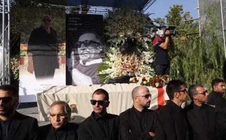 تصاویر مراسم تشییع عباس کیارستمی