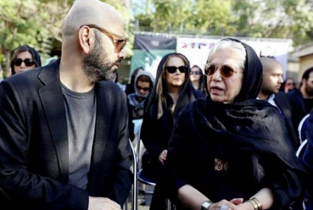مراسم تشییع عباس کیارستمی
