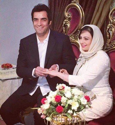تصاویر عقد یکتا ناصر و همسرش منوچهر هادی کارگردان