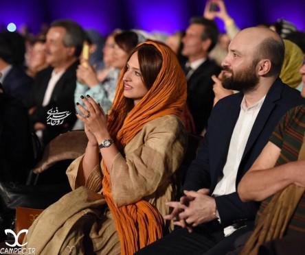 بازیگران در شب موسیقی ناظری برج میلاد تهران 95