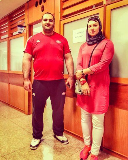 بیوگرافی لیلا رجبی ورزشکار پرتاب وزنه