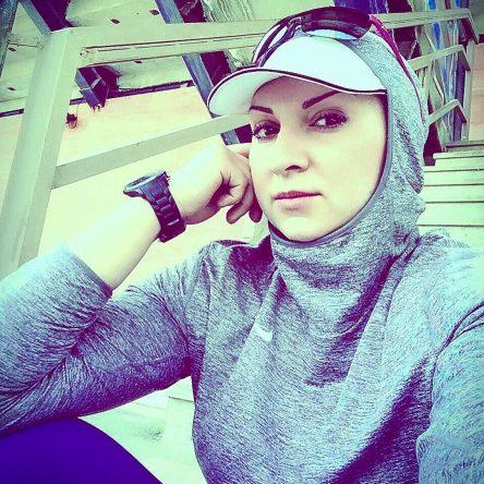 لیلا رجبی ورزشکار پرتاب وزنه