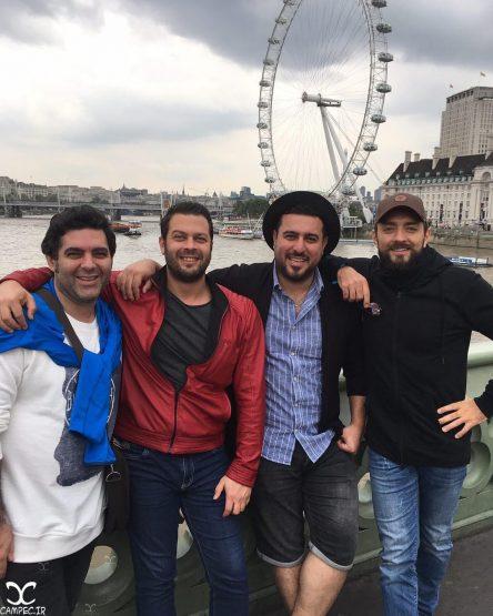 عکس های بازیگران اکران فیلم بارکد در لندن