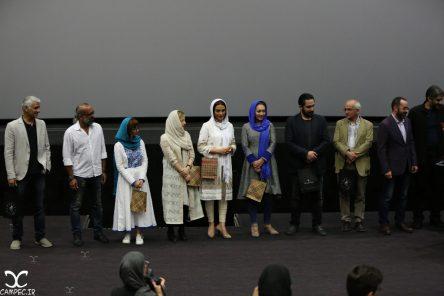 عکس های بازیگران مراسم اکران فیلم ربوده شده