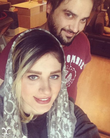 همسر مهدی سلوکی در کنارش