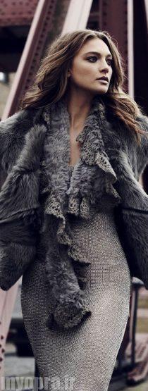 مدل مانتو بافت دخترانه و زنانه پاییز و زمستان 95